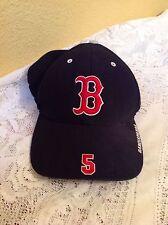 MLB NOMAR GARCIAPARRA BOSTON RED SOX HAT ONE SIZE # 5 BASEBALL CAP TWINS ENT