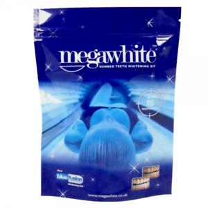 MEGA WHITE ULTRA VIOLET Sunbed Teeth Whitening Kit While Tanning Non Peroxide