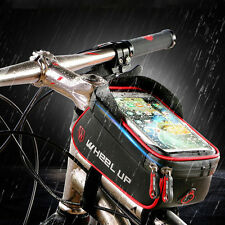6 inch 360° Waterproof Bike Mount Holder Case Bicycle Cover for iPhone 6S 7 plus