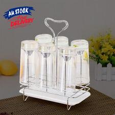 Drying Stand Water Mug Rack Draining Kitchen Organizer Holder Tray Glass Cup