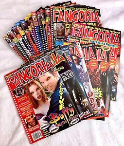 Lot 21 FANGORIA HORROR MAGAZINES ISSUES BET. #180 + 253 GODZILLA EXORCIST BUFFY