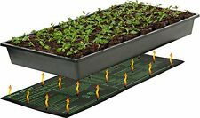 "Seedling Heat Mat Seed Grow 10-20 Degree Warm Improve Germination 9"" X 19.5"" NEW"