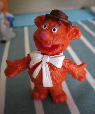 MUPPET SHOW fozzy bear- SCHLEICH VINTAGE DE 1976/1977 , figurine pvc neuf