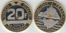 Gertbrolen 20 Francs Mont Saint-Michel 2000  BE  Belle Epreuve