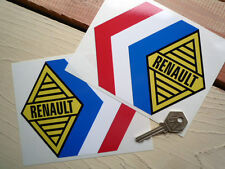 RENAULT ALPINE Tricola 150mm rally & race car stickers Gordini Compeition 6inch
