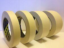 3M Masking tape 18, 24, 36, 48mm x 50m HIGH QUALITY / LOW BAKE / SCOTCH TAPE