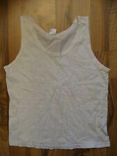 T-Shirt / Top Gr. 146/152 unifarben weiß