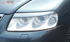 RDX Scheinwerferblenden VW Touareg -2006 Böser Blick Blenden Spoiler Tuning