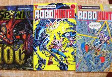Lote de 2 Comics de Robo Hunter + Comic de Spawn 100 Nº 94