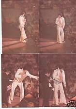 ELVIS 16 PHOTO SET-LAST CONCERT-1977 INDIANAPOLIS & CD