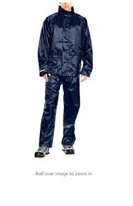 rain Men's  silky wet look shiny festival hiking  Suit pants jacket navy