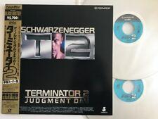 SCHWARZENEGGER Terminator 2: Judgment Day with Obi Laser Disc Japan PILF-1375 LD