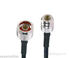 3 ft Jumper Ham Us Made Rg58 N Male N Female Connectors Coaxial Cable