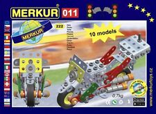 Merkur 011 Motor Bike Set Allows You To Make 10 Models Rrp $90 Czech Product