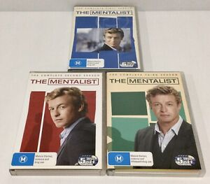 The Mentalist Season 1-3 DVD First Second Third Seasons