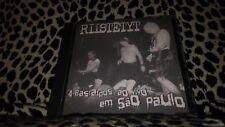 RIISTETYT CD 4 BASTARDOS AO VIVO EM SAO PAULO RARE PUNK HARDCORE KBD IMPORT