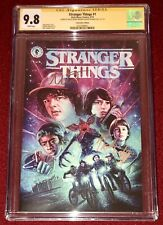 CGC SS Stranger Things # 1 signed by Millie Bobby Brown & Noah Schnapp!