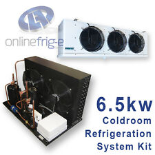 Kit Refrigeration System for Coldroom 6.5kw Unit Evaporator Thermostat TX valve