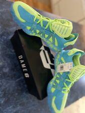 🏀 Adidas Dame 6 JamFest McDonalds Green Blue Basketball Shoes FW4507 Size 9.5