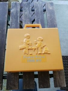 Vintage 1970s Fisher Price Tool Kit-Working wind up Drill