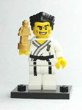 Lego Minifigure 8684 Series 2 Karate Master- Black Belt -White Kimono - Retired