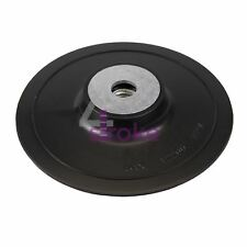 Abs Fibre Disc Backing Pad 125mm W/ Fibre Discs And Semi-Flexible Grinding Discs