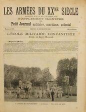 Les Armées du XXme Siècle n°23 - 1905 - L'Ecole militaire d'Infanterie