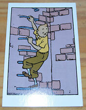 Carte postale de Tintin, les Cigares du Pharaon, éditions Moulinsart,