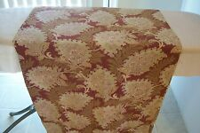 Vtg Antique 1800's 19th Century Cotton Sewing Fabric Yards Victorian Flower