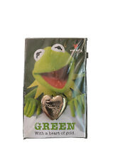 """""""Kermit The Frog"""" Green With A Heart of Gold Pin For Variety Children's Charity"""