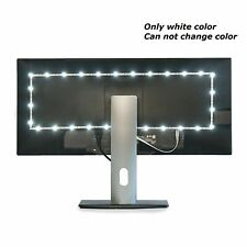 1M 5V White LED Strip Light USB Powered TV PC Back Mood Lighting Xmas Lamp