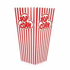 Popcorn Containers Boxes 100 Pack Striped White And Red Paper For Home Mo