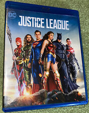 Justice League (Blu-Ray DVD 2017)