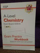 New A-Level Chemistry: Aqa Year 1 & 2 Exam Practice Workbook (2018, Paperback)