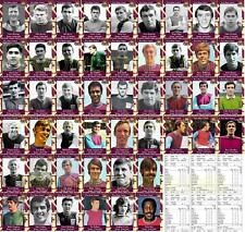 West Ham United 1960's vintage style Football Trading cards - Debuts Collection