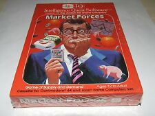 MARKET FORCES by Avalon hill COMMODORE 64 sealed New old stock RARE!