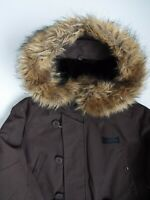 Alpha Industries Alaska Parka Jacket Men's Medium Mid Brown LJKTA765