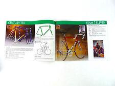 Eddy Merckx Bicycle catalog 10th Anniversary Vintage BIKE CAMPAGNOLO Pista NOS