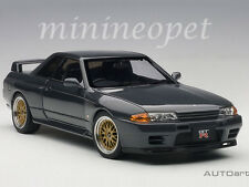 AUTOart 77417 NISSAN SKYLINE GT-R R32 V-SPEC II TUNED VERSION 1/18 GUN GREY