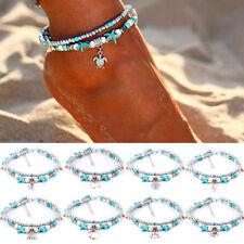 BT Metal Multicolor Bells Charms Chain Link Anklet Ankle Bracelet L6Q3