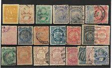 Bolivia. 2 Fichas con 112 sellos usados y nuevos