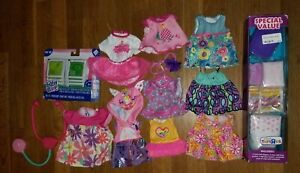 Hasbro Baby Alive Accessory Lot Diapers Clothes Food Stethascope