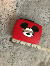 Mickey Mouse Disney Portable Cassette Recorder Player Vintage