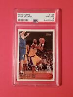 1996 Topps Kobe Bryant Rookie RC PSA 8 NM-MT Lakers #138 🌟 MAILED IN TODAY 🌟