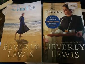 Beverly Lewis The Proving &The Ebb Tide Paperback Book