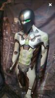 Overwatch Genji Costume 3D Print Halloween Cosplay Zentai Suit For Adult Tights