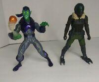 Hasbro Marvel Spider-Man Homecoming Movie Vulture & Green Goblin Figure Lot # 2