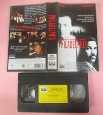 VHS Film PHILADELPHIA Tom Hanks Denzel Washington 2000 COLUMBIA (F168) no dvd