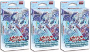 Freezing Chains Structure Deck Set of 3 YuGiOh Konami SEALED IN STOCK READY
