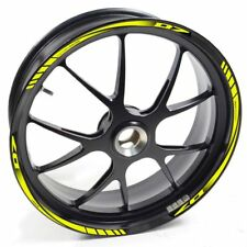 Auen Sticker Wheel Rim Yamaha MT 07 Mt07 Mt-07 Fluorescent Yellow Strip Tape VIN